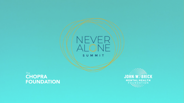 MENTAL HEALTH NEVER ALONE
