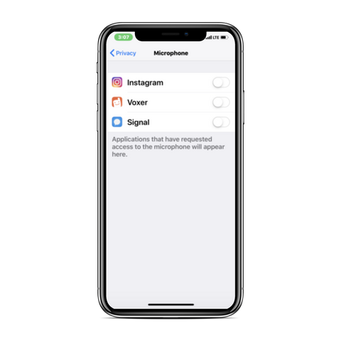 How to Turn Off Microphone for Instagram and other Apps on