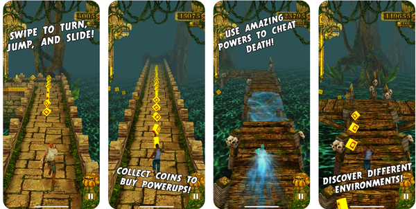 free temple run download apple store and google store