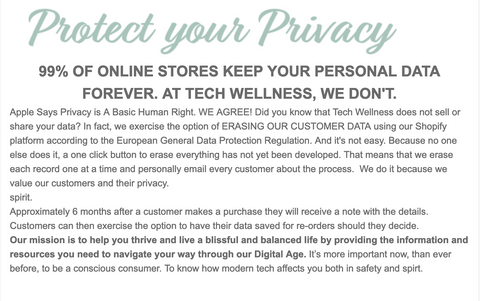 best privacy policy