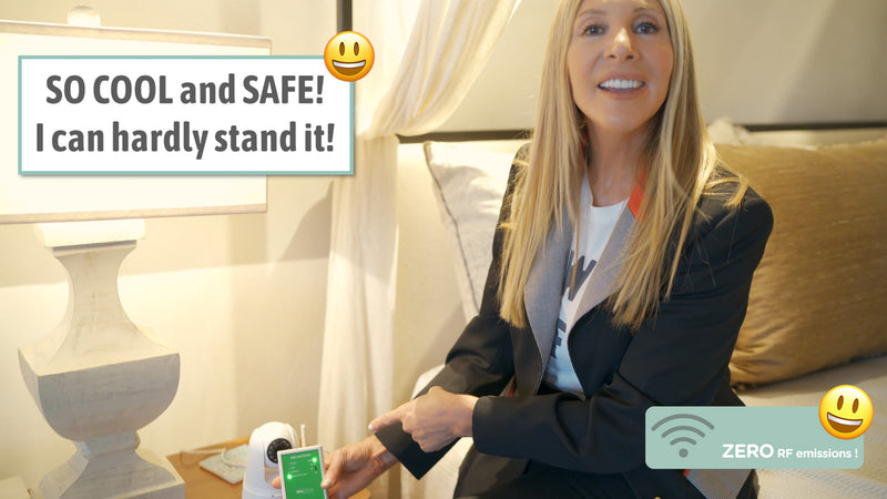 SuperPower! See and Hear Invisible EMF Radiation. Protect Your Home With This Wireless Energy  Detector