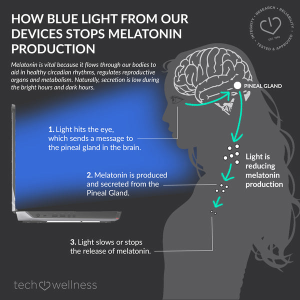 blue light stops melatonin