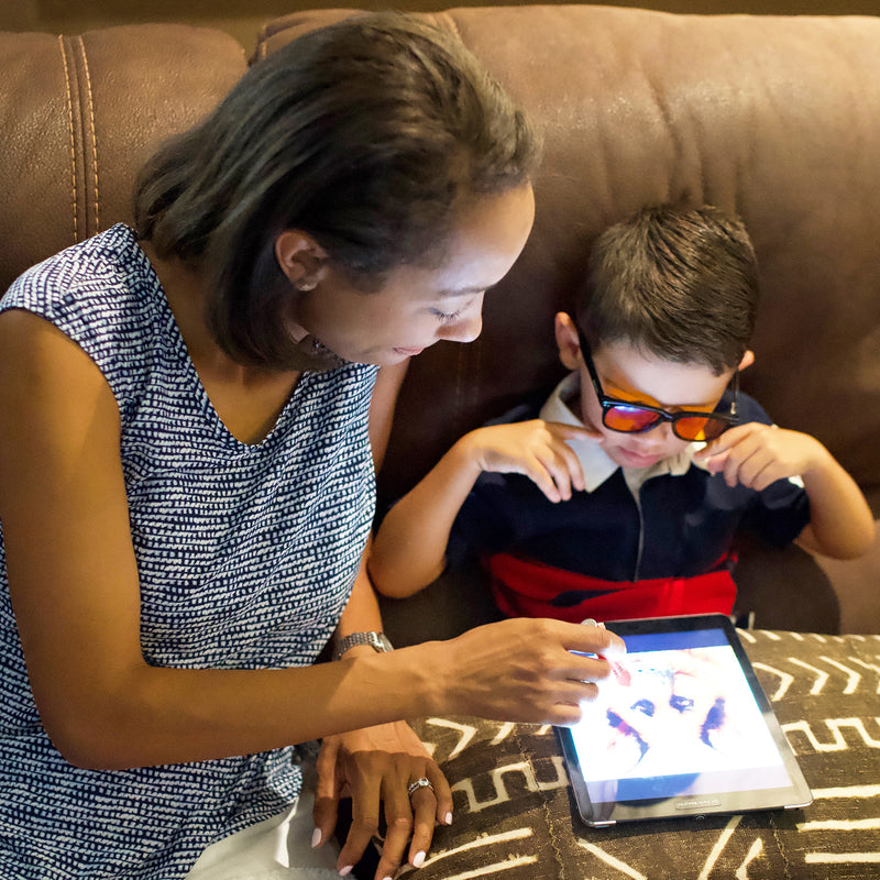 Kids Blue Blocking Glasses Protect From 75% Digital Blue Light