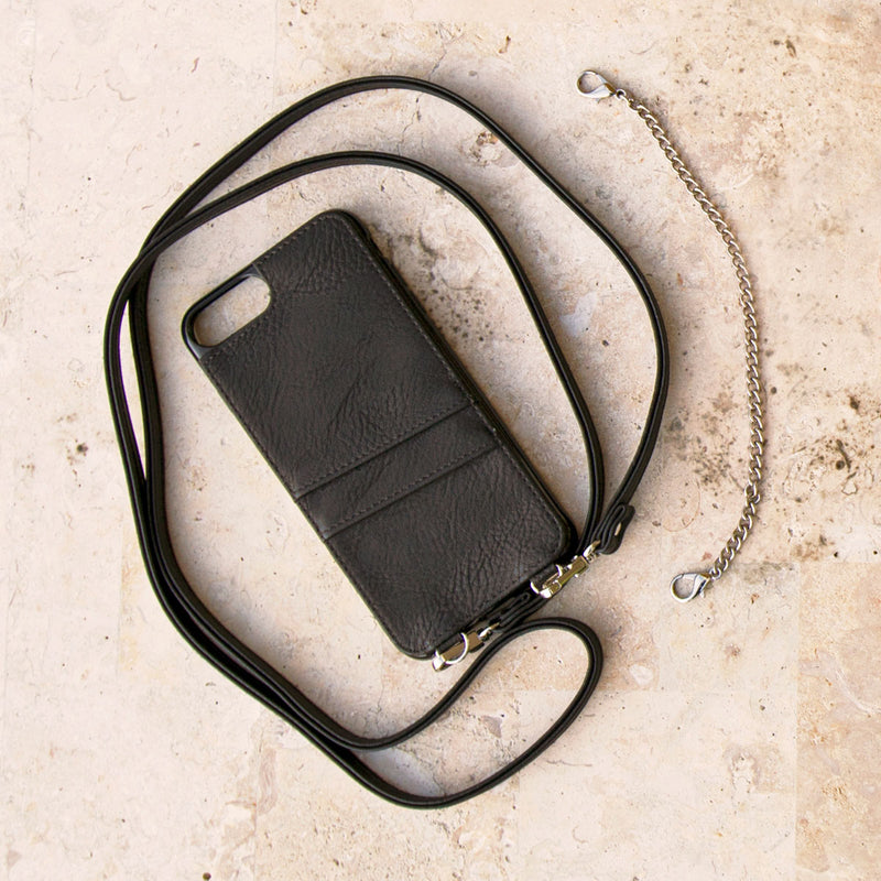 Style Meets Safety Crossbody Phone Case