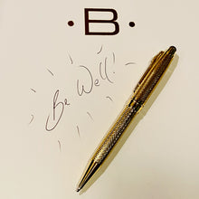 Golden stylus and pen combo