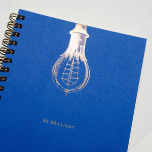 Be Brilliant Notebook Tech Wellness