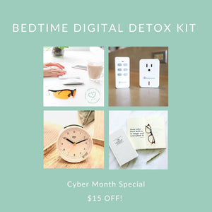 Bedtime Digital Detox Kit - Limited Time Cyber Month Special! Tech Wellness