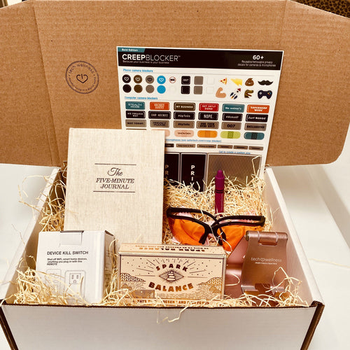 Benefit Mental Health Awareness With This Be Well Gift Box mind Tech Wellness