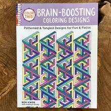 Brain Booster Coloring Book and Colored Pencil Pack. A Great Gift for The Woman Who Has Everything! Tech Wellness