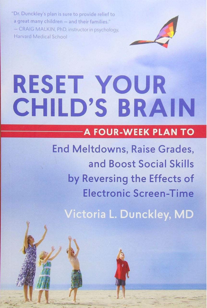 Can't Get Your Kid Off Their Device? Try Reset Your Childs Brain Book Tech Wellness