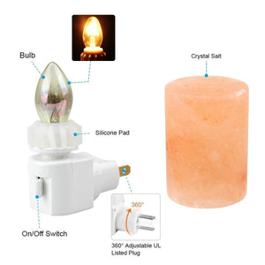 Pink Himalayan Soft Glow Night Lamp Tech Wellness