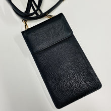 RESTOCK: The AUGUST Faraday Cross Body Leather Phone Case. Stylish EMF-Radiation Protection, RFID Credit Card Slots, Plus A Place For Your Essentials Tech Wellness