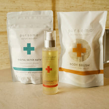 The Digital Detox Gift Set: Digital Detox Bath, Beautiful Jute Dry Brush and Heavenly Body Oil 4 Amazing Products- One Great Offer! Tech Wellness