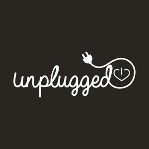 Unplugged Muscle Tank Shirt in Black. Rose. Stone. Wellness Wear Tech Wellness Small Charcoal