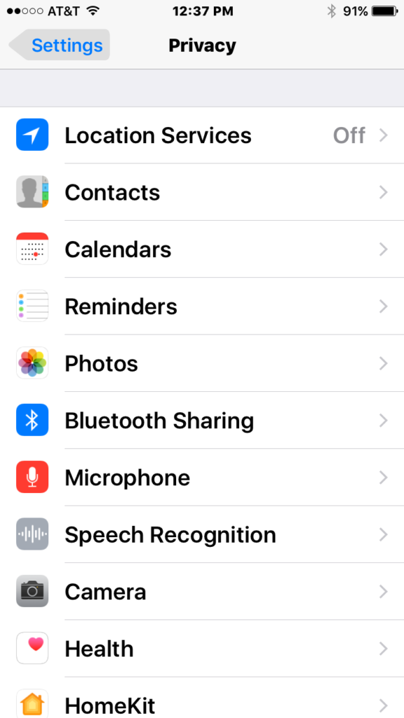 facebook microphone privacy settings