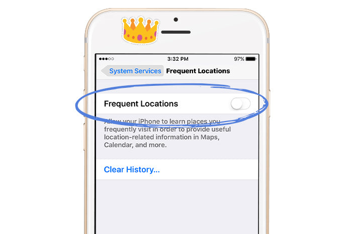 location tracking iPhone