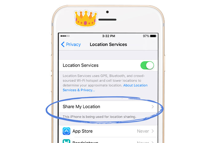 Location iPhone Privacy