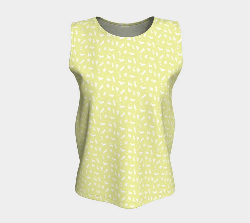 Sunny Weens Shell Top - Long - Daring Dachshund