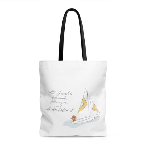 Finny Bag - All I need - Daring Dachshund