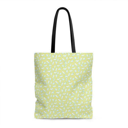 Finny Bag - Yellow and Teal Weens - Daring Dachshund