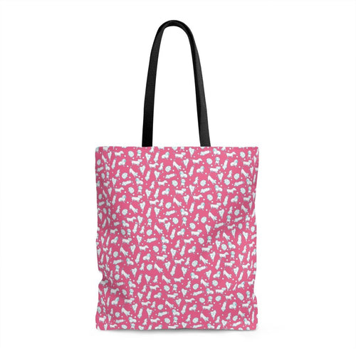 Finny Bag - Pink and Teal Weens - Daring Dachshund