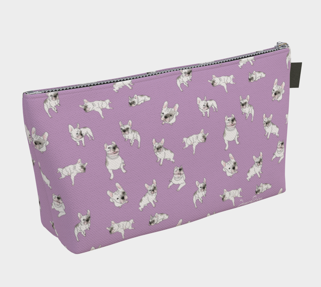 Cosmetic Bag - Flirty Frenchie