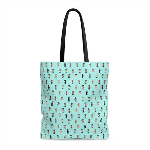 Finny Bag - Pink and Teal Weens