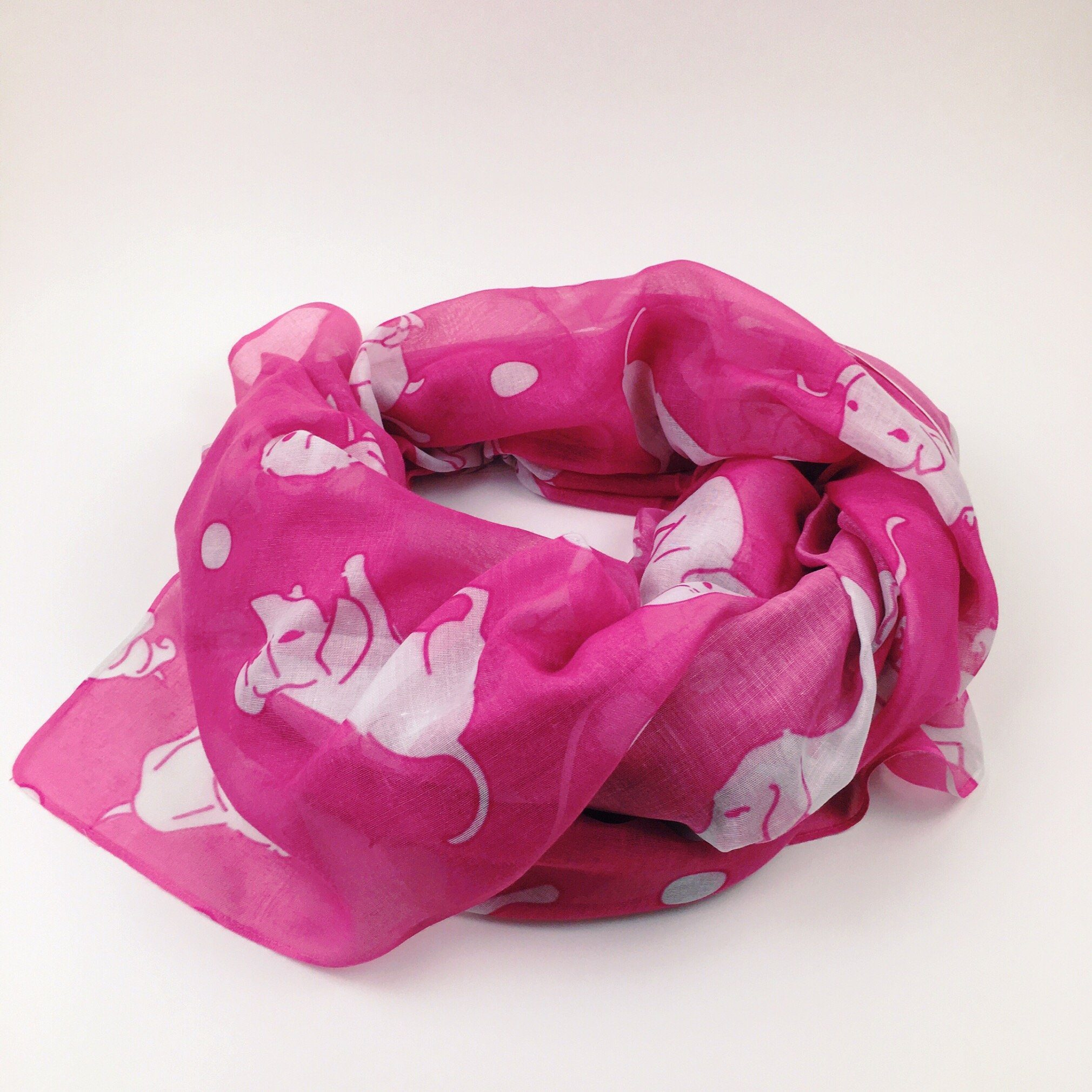 Berry Weens Airy Scarf - Daring Dachshund