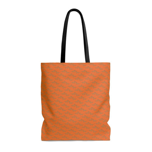 Finny Bag - Orange Pair o'Dox - Daring Dachshund