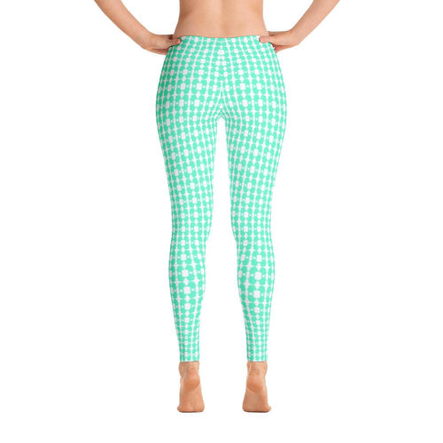 Bright Eyed Buster - Mint - Leggings - Daring Dachshund
