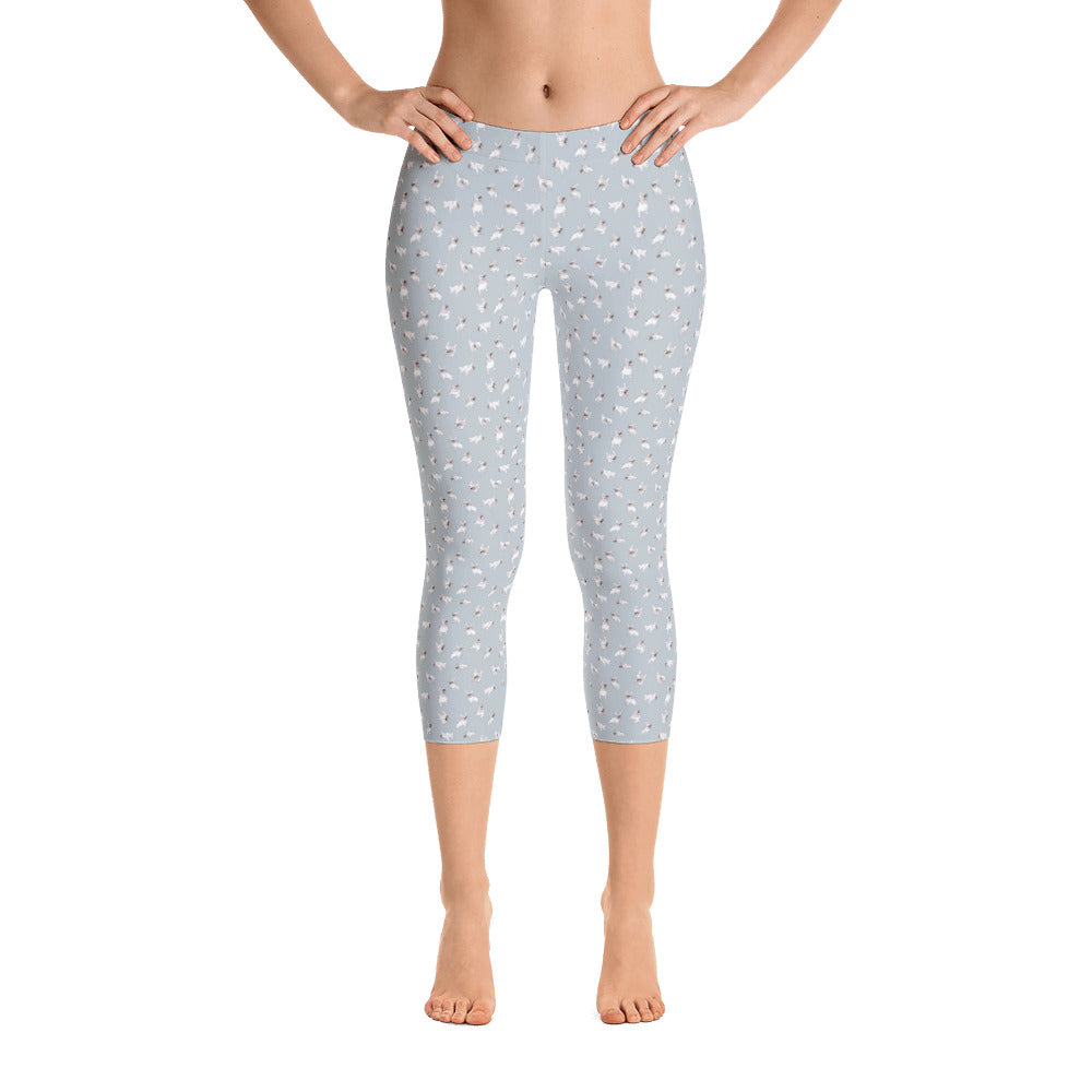 Capri Leggings - Fine Frenchie
