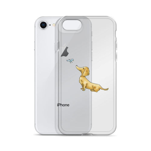 Goldie Dox iPhone Case - Daring Dachshund