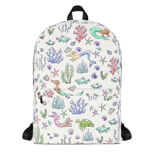 Under the Sea Dox Backpack - Daring Dachshund