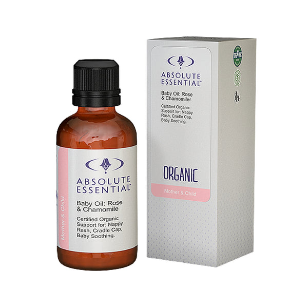 Absolute Essential Baby Oil: Rose and Chamomile 50ml