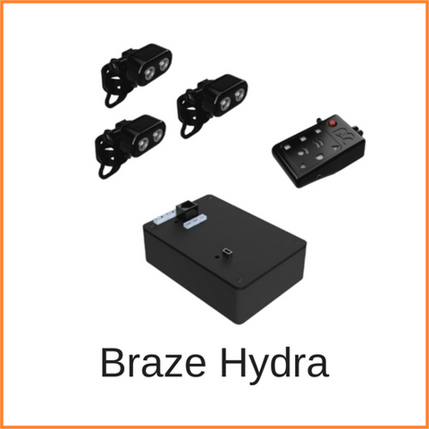 Braze Hydra, blind spot sensor system for people who use wheelchairs