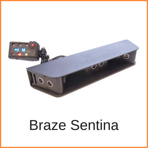 Braze Sentina, blind spot sensor for people who use wheelchairs