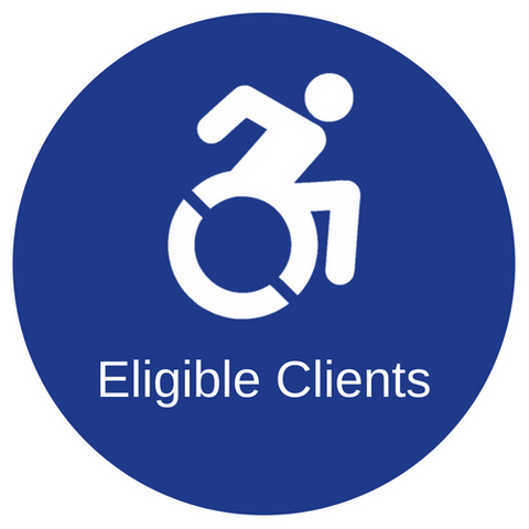 Eligable clients, people who use wheelchairs who could benefit from blind spot sensors