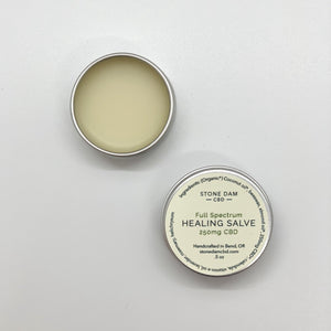 Healing Salve 250mg CBD (.5oz/15ml)