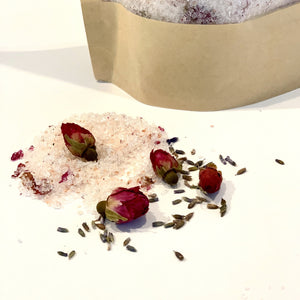 Lavender Rose Bath Soak - 250mg CBD -16oz.