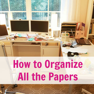 How to Organize All the Papers by a Professional Organizer in Parkland
