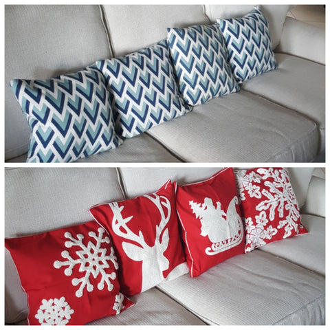 Professional Organizer Tips for Holiday Pillows
