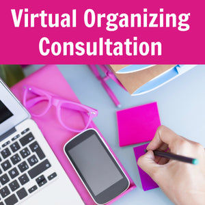 Virtual Organizing Consultation (Video Chat for 1 Hour)
