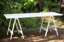 Tables White Wooden - 1.9m