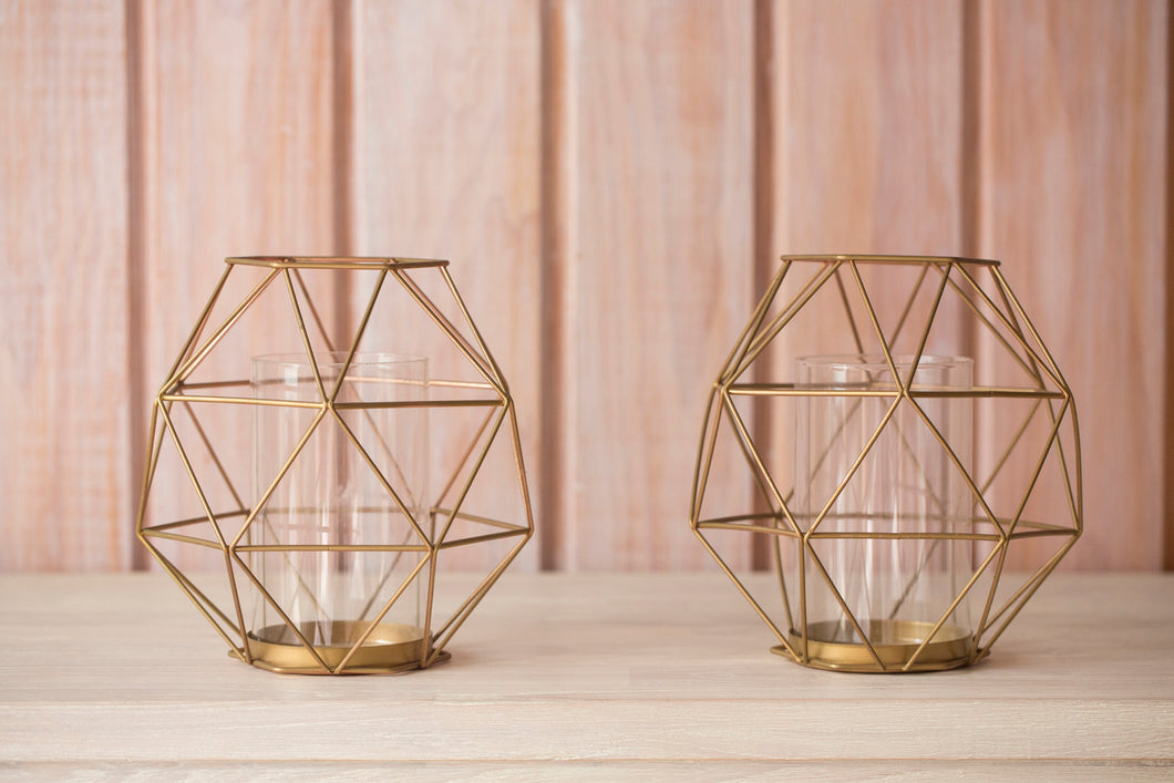 Geometric Candle Hurrianes