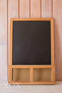 Blackboard with sm trays