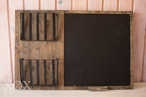 Blackboard Rustic with flower grates