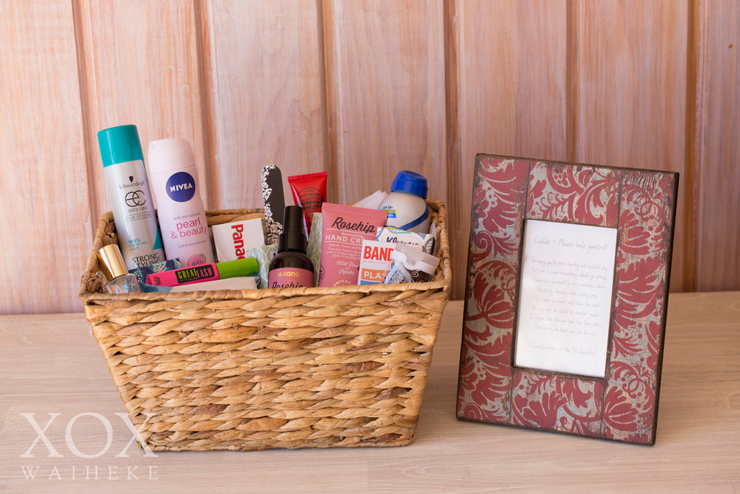 Ladies Bathroom Basket