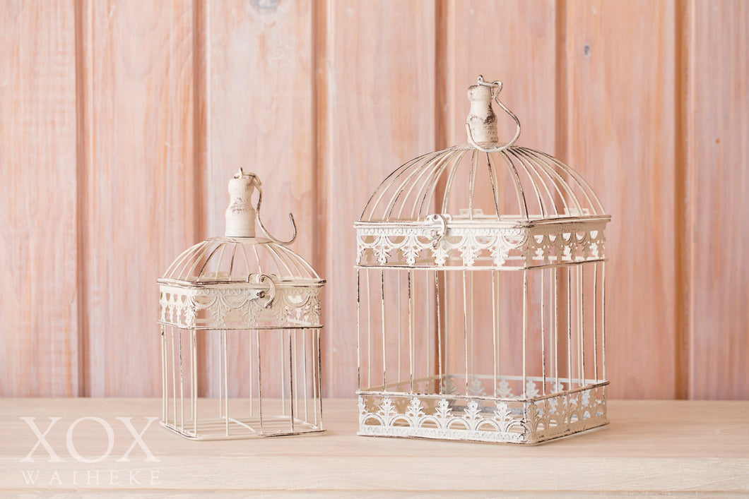 Set of 2 Vintage Birdcages