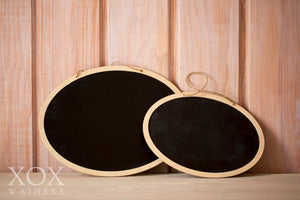 Blackboards Small Oval