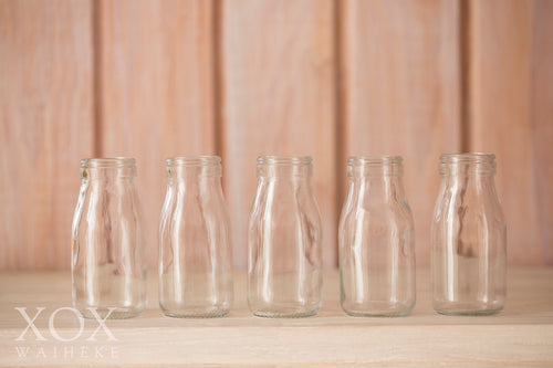 Milk Bottles small - set of 12